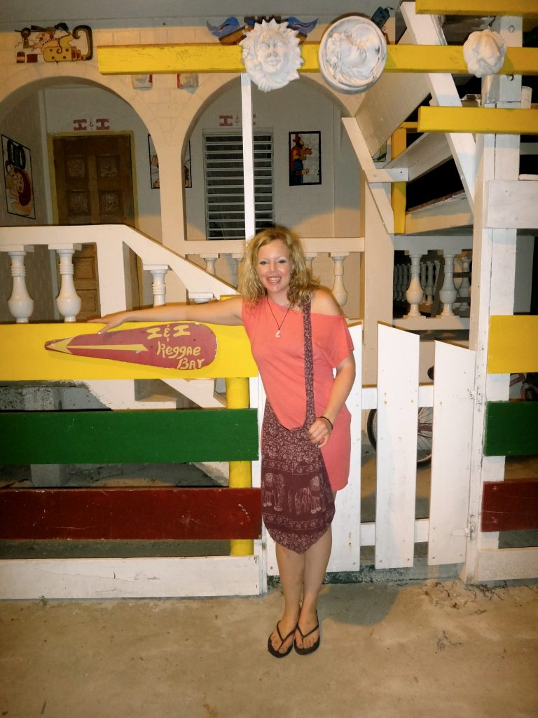 I&I Reggae Bar on Caye Caulker. Photo by Brandy Little.