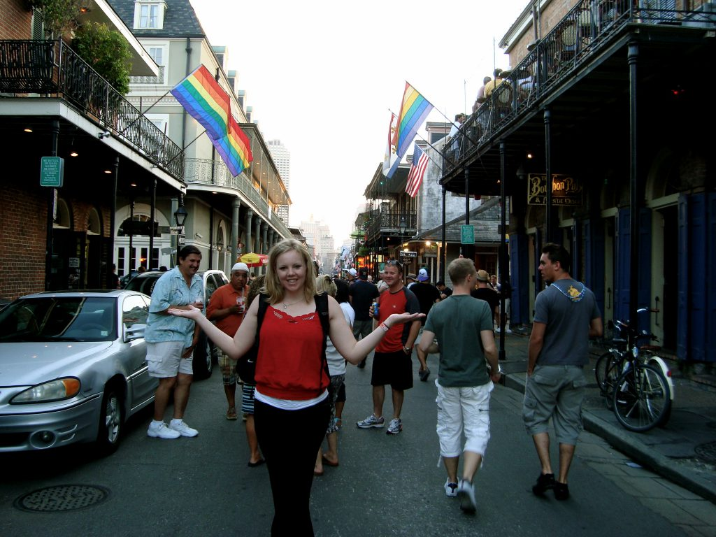 Brandy Little in the French Quarter