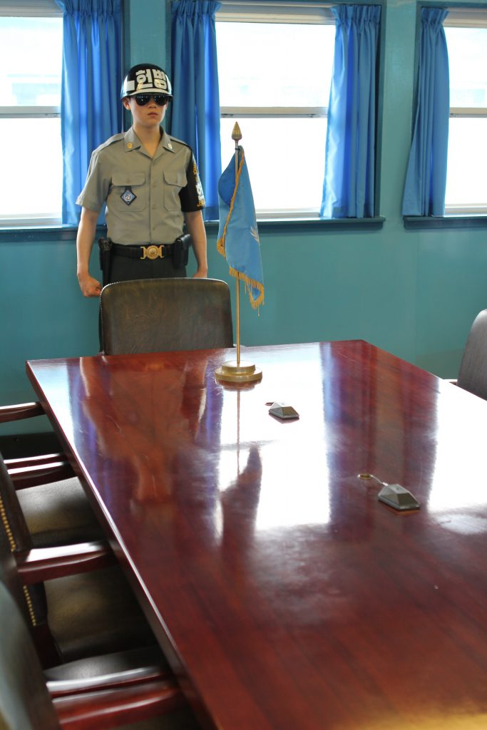 Demilitarized Zone Joint Security Area photo by Brandy Little
