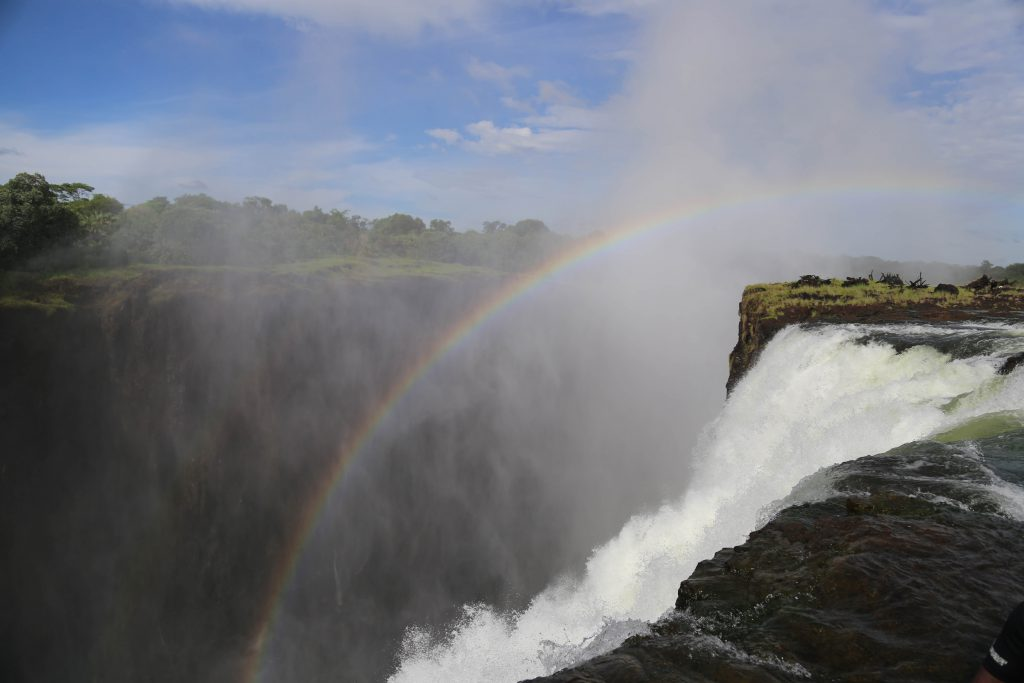 Victoria Falls. Photo by Brandy Little.
