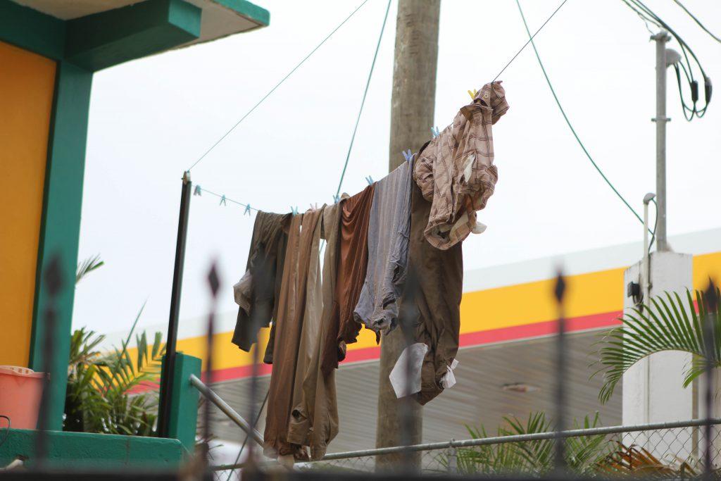 Laundry in Belize. Photo by Brandy Little.