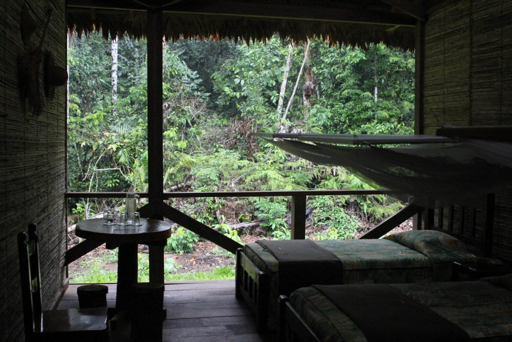 Eco Lodge in the Amazon Jungle. Photo by Brandy Little.