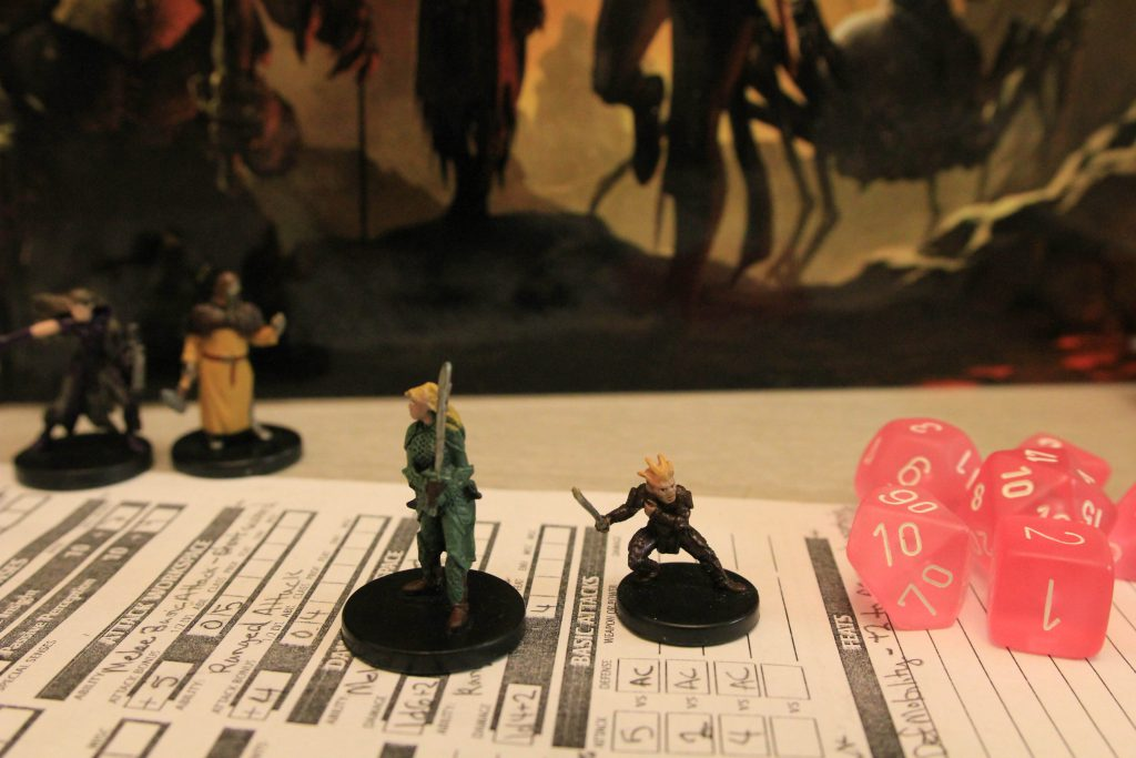 Dungeons and Dragons. Photo by Brandy Little.