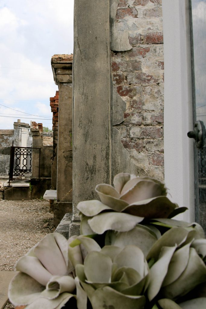 St. Louis Cemetery in New Orleans photo by Brandy Little