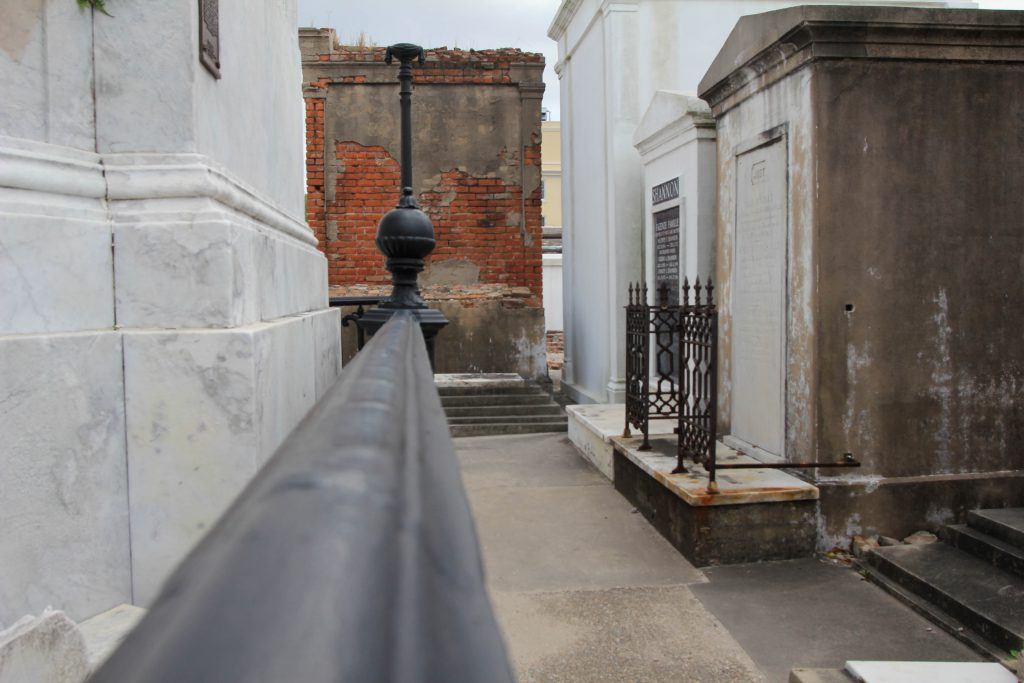 St. Louis Cemetery #1 in New Orleans photo by Brandy Little