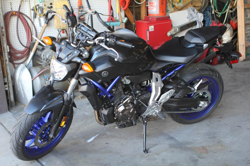 Yamaha FZ 07 by Brandy Little