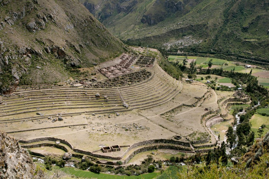 Inca ruins. Photo by Brandy Little.