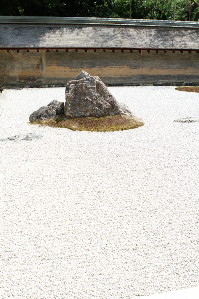 Ryoan-Ji, Japanese Rock Garden, Photo by Brandy Little.