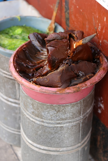 Black Soap in Morocco photo by Brandy Little