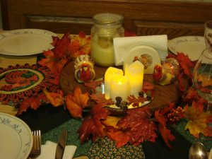 Thanksgiving Table photo by Brandy Little